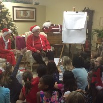 Story time with Santa!